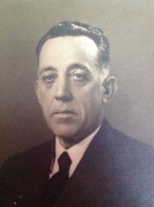 El comerciant i navilier Manuel Verdera Ferrer, que tengué una destacada actuació en la societat eivissenca de mitjan s. XX. Foto: cortesia de la família Verdera-Tuells.