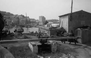 Les drassanes del port d´Eivissa en una foto de 1971 d´Antoni Vidal Miquel. Arxiu Vidal.