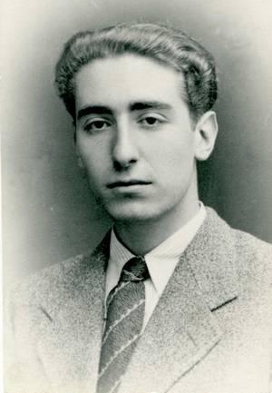 Marià Villangómez Llobet. Una imatge de joventut. Foto: Arxiu d´imatge i so municipal d´Eivissa.