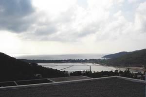 Sa Xarqueta, estany de les salines d´Eivissa, al SO del munt des Pantano. Foto: Felip Cirer Costa.