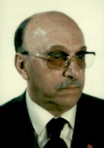 El professor i pintor Josep Zornoza Bernabeu. Foto: arxiu de Pere Vilàs Gil.
