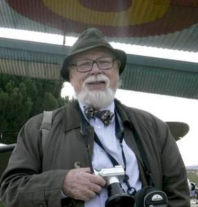 Juan Zozaya Stabel-Hansen, que ha realitzat estudis sobre ceràmica islàmica d´Eivissa. Foto: arxiu de Jordi H. Fernández Gómez.