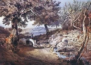 Aigua. L´antiga font d´en Joan Armat, vista per l´arxiduc Lluís Salvador.