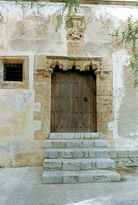 A la Cúria era on impartia justícia l´assessor. Vista de la Cúria. Foto: Ernest Prats Garcia.