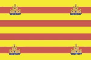 Bandera de les Pitiüses.