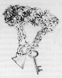 Un anell de borronat. Extret de <em>La joyería ibicenca</em>.