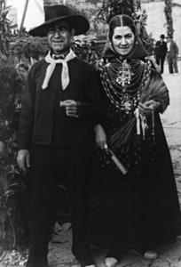 "L´home de la fotografia (Joan Marí Marí ""Botja"") porta una camisola. Foto: cortesia de la família Marí Tur."