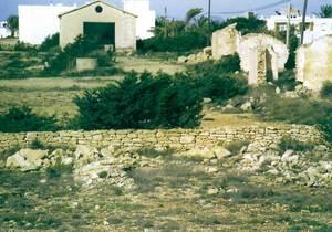Una imatge del Camp de concentració de Formentera. Foto: Isidor Torres Cardona.