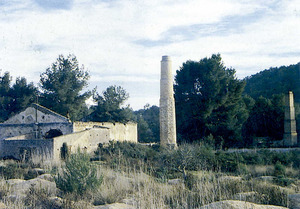 Mines de s´Argenteraq, on es deia que hi havia cinabri. Foto: Antoni Ferrer Abárzuza.