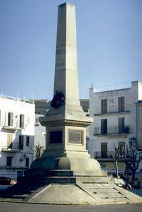 El monument als corsaris d´Eivissa, començat l´any 1905. Foto: M. J. García Merchante.