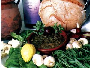 Cuinat i alguns dels seus ingredientes. Foto: cortesia del <em>Diario de Ibiza</em>.