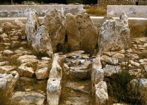 Monument funerari de ca na Costa, Formentera, datat en el període eneolític. Foto: Felip Cirer Costa.