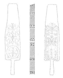 Un espadador. Extret d´<em>Eivissa, el palau pagès</em>.