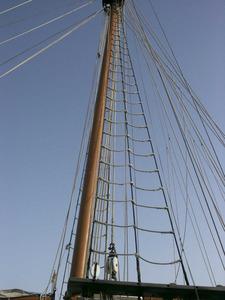 Fletxaste del vaixell <em>Tho-pa-ga</em>. Foto: Josep Cardona Riera.