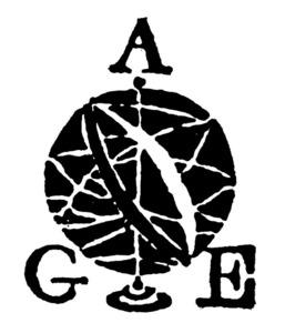 Logotip de l´Associació de Geògrafs Espanyols.
