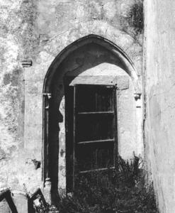 Detall arquitectònic de la casa del governador, on residia el representant del poder central a les Illes Pitiüses. Foto: Joan Ramon Torres.