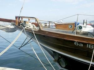 Llançament de proa d´un vaixell. Foto: Felip Cirer Costa.