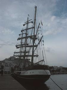 El pont és la coberta elevada des d´on es governa una embarcació. Foto: Felip Cirer Costa.