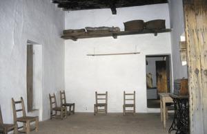 El porxo d´una casa pagesa. Foto: Antoni Ferrer Abárzuza.