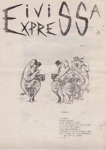 Portada d´<em>Eivissa Express</em>, un altre exemple de publicació alternativa.