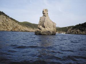 Quartó. Es cap Bernat feia de partió entre Santa Eulària i Balansat. Foto: Felip Cirer Costa.
