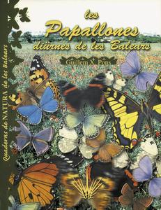 Portada del llibre de Guillem X. Pons sobre papallones diürnes balears (ropalòcers).