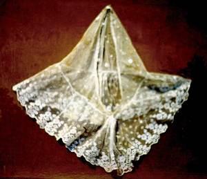 El cambuix amb randa conegut com a volant. Foto: arxiu de Lena Mateu Prats.